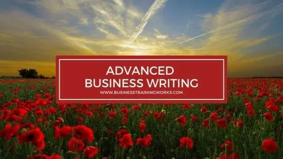Advanced Business Writing Training