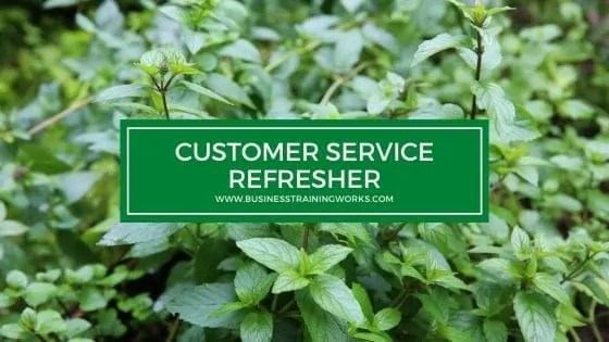 Customer Service Refresher Training