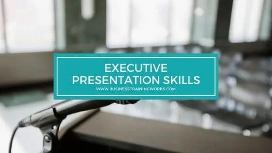Executive Presentation Skills Training