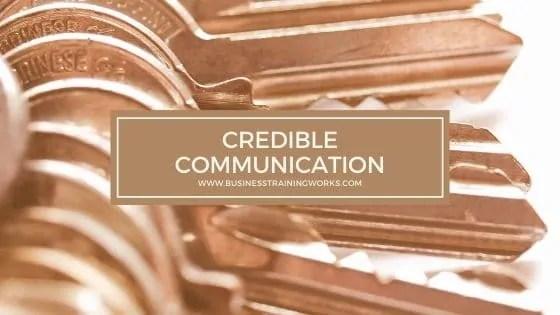 Credible Communication Training
