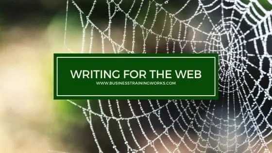 Web Copywriting Training