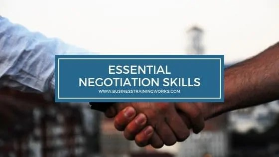 Introductory Negotiation Training