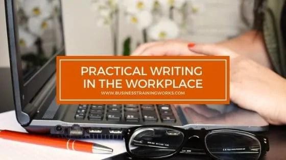 Workplace Writing Training