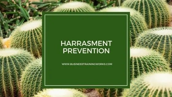 Online Harassment Prevention Course