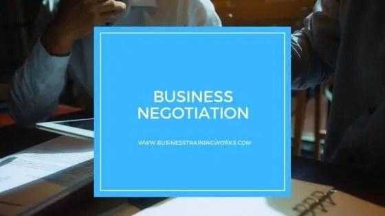 Online Business Negotiation Course