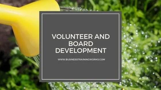 Board Development Online Course