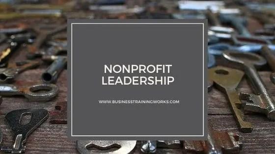 Nonprofit Leadership Online Course