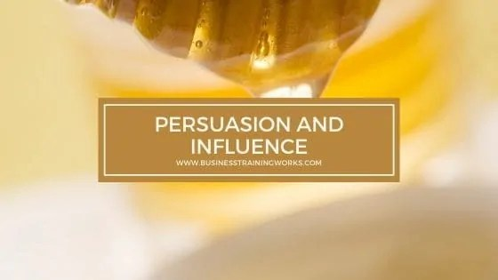 Persuasion and Influence Training
