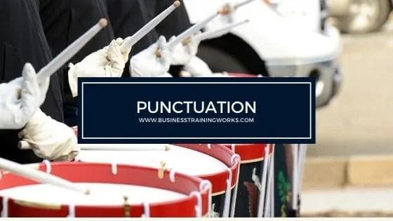 Punctuation Training