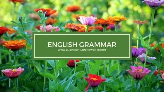 English Grammar Training