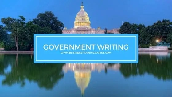 Government Writing Training