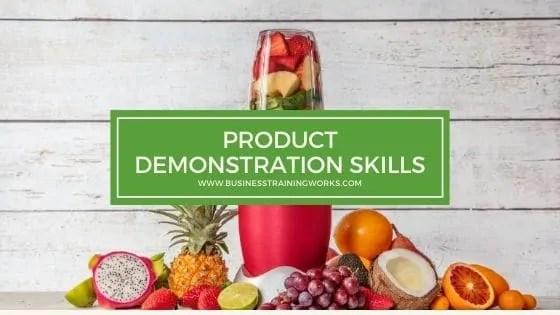 Product Demonstration Skills Training