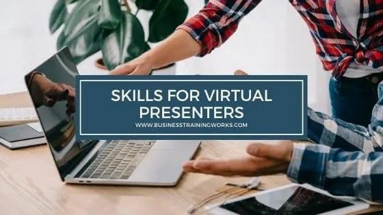 Presentation Skills Training for Virtual Presenters