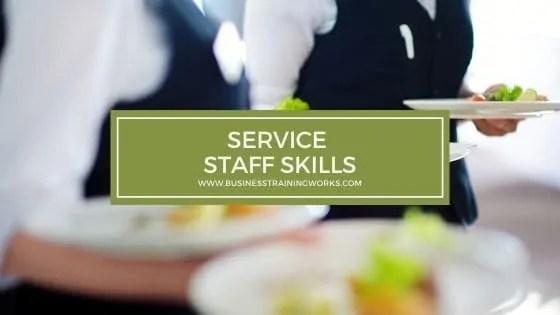 Service Staff Training