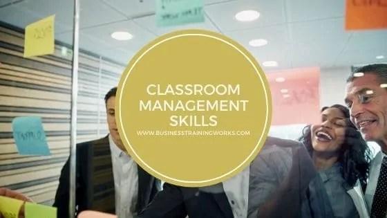 Classroom Management-Skills Training