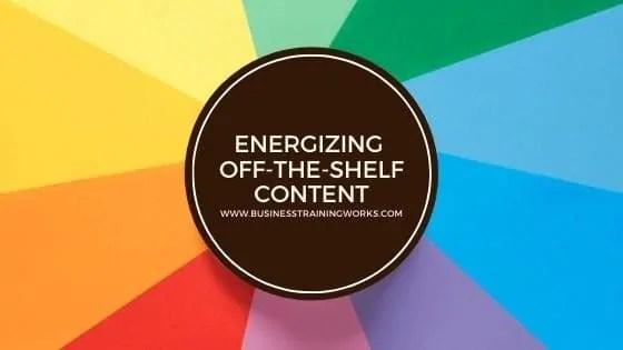Adapting-Off-the-Shelf-Content-Training