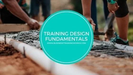 Training Design Skills Course