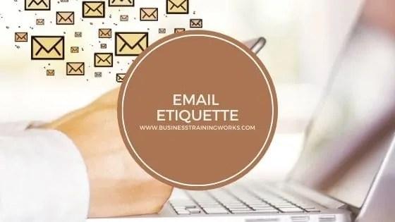 Email Etiquette Webinar