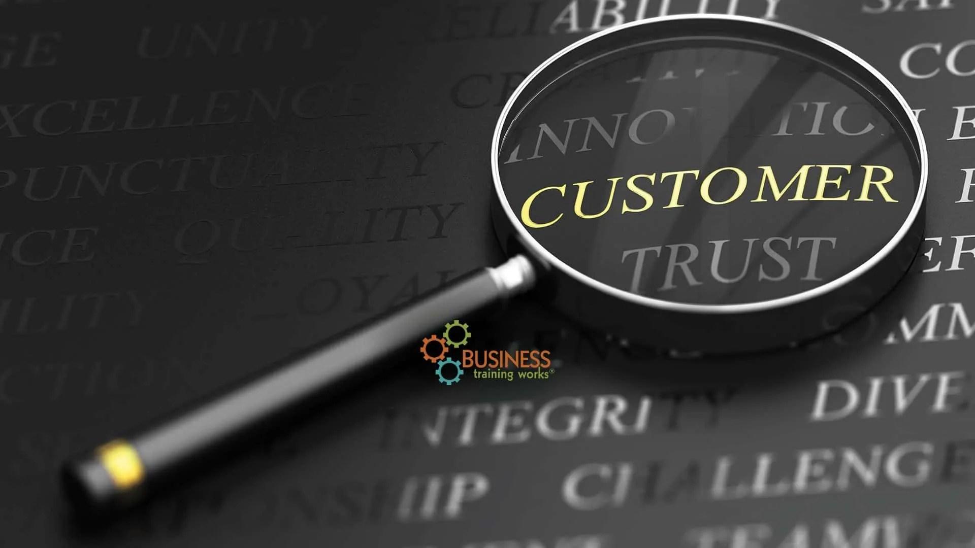 Web-Based Customer Service Course