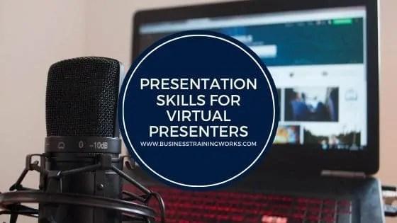 Presentation Design and Delivery Skills Webinar