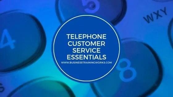 Telephone Customer Service Webinar