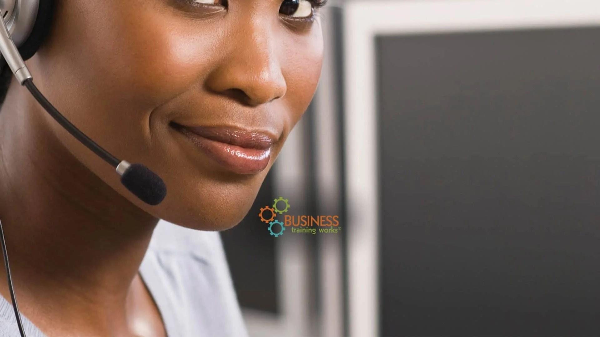 Web-Based Telephone Customer Service Course