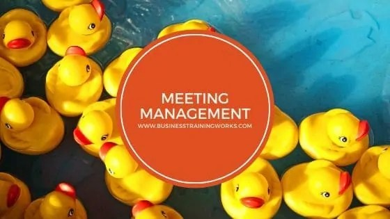 Meeting Management Webinar