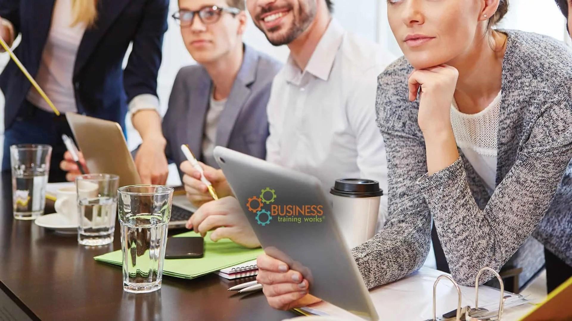 Web-Based Business Etiquette Course