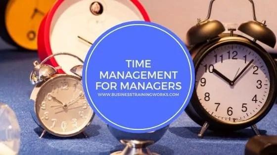 Time Management for Leaders Webinar