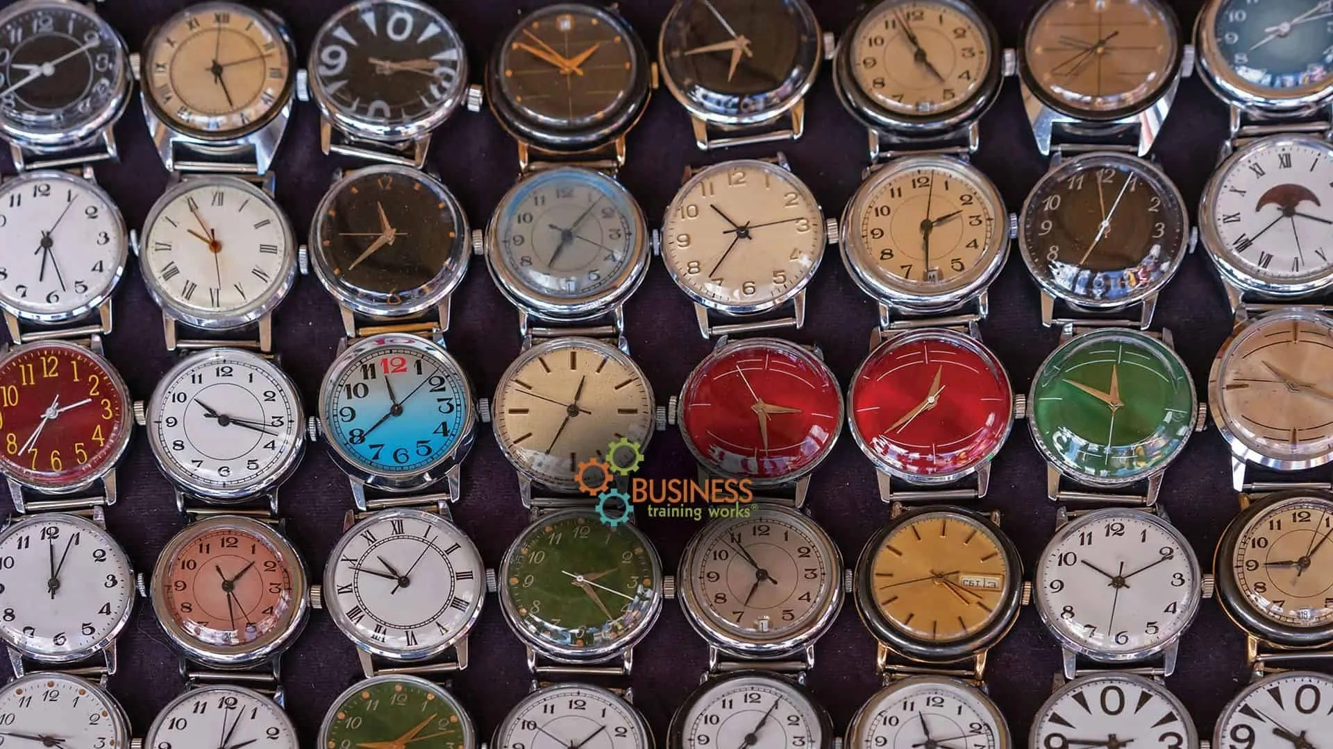 Web-Based Time Management Course for Managers