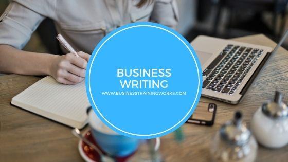 Online Instructor-Led Business Writing Training