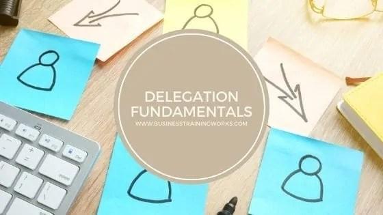 Online Delegation Course