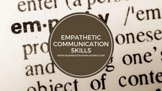Empathetic Communication Skills Webinar