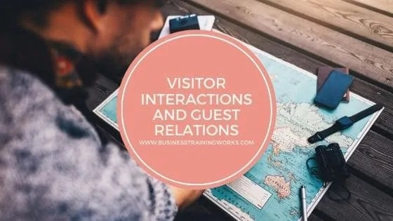 Visitor Interactions Training Webinar