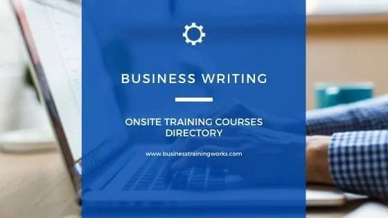 Business Writing Courses