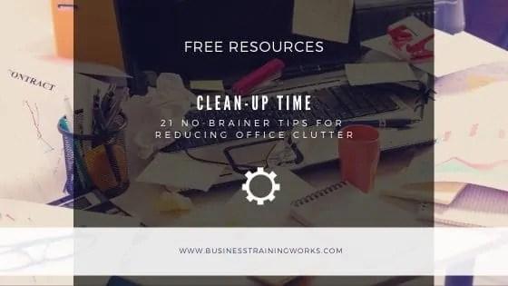 Office Decluttering Tips