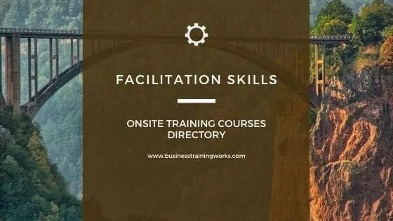 Facilitation Skills Courses