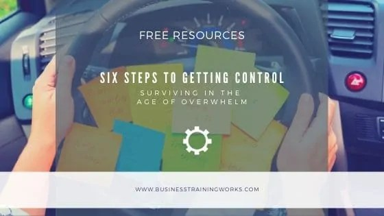Getting Control of Your Time