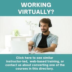 Instructor-Led Online Training Program