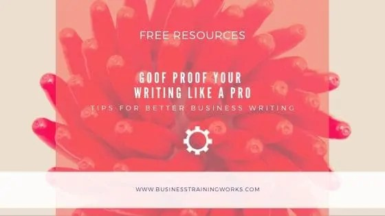 Proofreading Tips for Writers