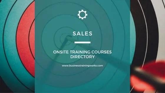 Sales Training Courses