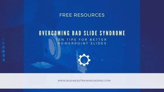 Slide Design Tips