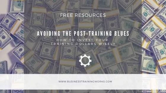 Training Return on Investment