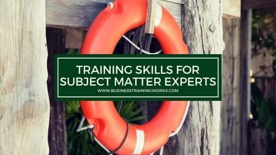 Training Skills Training for Non-Trainers