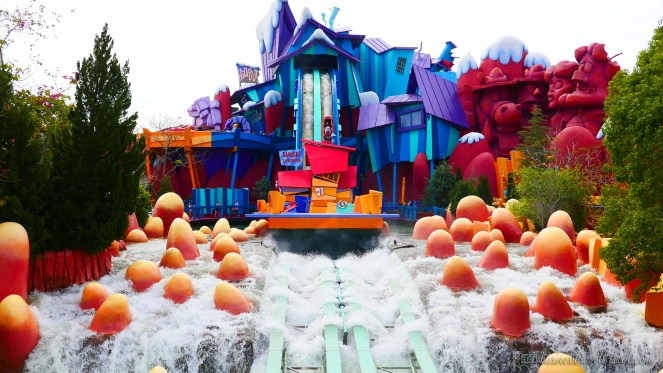 visiting universal orlando: islands of adventure Dudley Do-Right's Ripsaw Falls