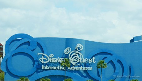what to do in Disney Springs - Disney Quest Interactive Adventures review