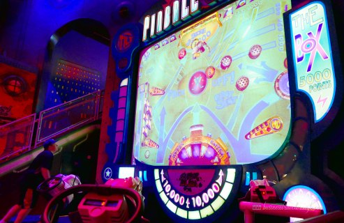 what to do in Disney Springs - Disney Quest Interactive Adventures human pinball
