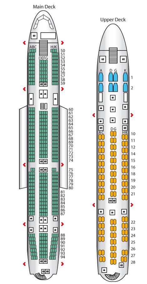 Lufthansa A380 Seat Map : lufthansa, Lufthansa, A380:, Business, Traveller