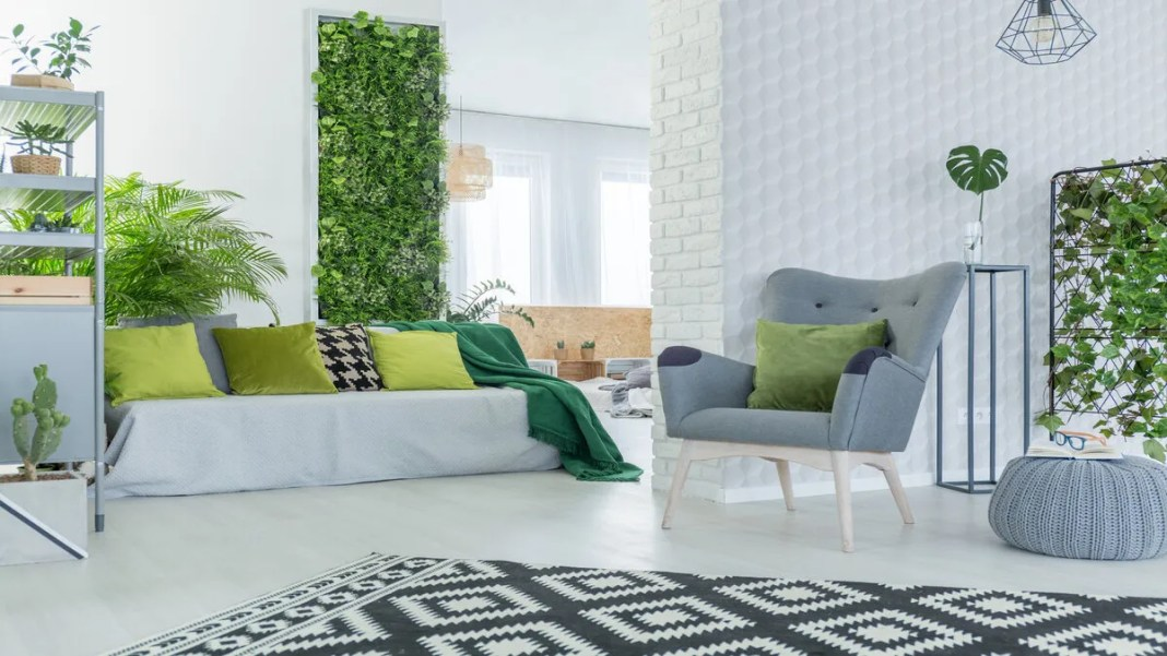 plants in bedroom ideas
