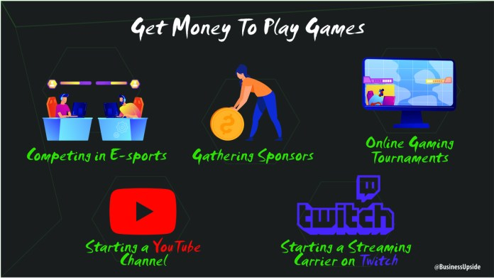play games and get money
